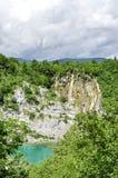 Λίμνες και καταρράκτες Plitvice Στοκ εικόνες με δικαίωμα ελεύθερης χρήσης