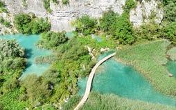 Λίμνες και καταρράκτες Plitvice Στοκ Εικόνες