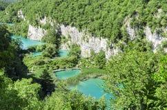 Λίμνες και καταρράκτες Plitvice Στοκ Φωτογραφία