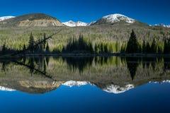 Λίμνες καστόρων Στοκ Φωτογραφίες