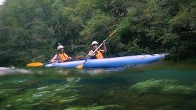Λίμνες Κροατία Plitvice απόθεμα βίντεο
