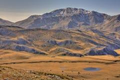 λίμνες μικρά δύο βουνών λόφ&omeg στοκ φωτογραφία με δικαίωμα ελεύθερης χρήσης
