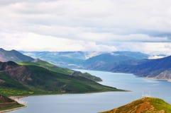 λίμνες ορεινών περιοχών Στοκ Φωτογραφία