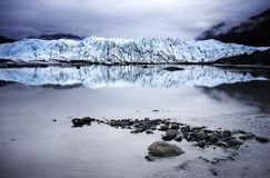 Λίμνες παγετώνων της Αλάσκας Στοκ εικόνες με δικαίωμα ελεύθερης χρήσης