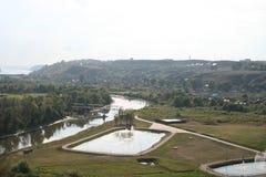 Λίμνες στην πόλη Elabuga Στοκ φωτογραφία με δικαίωμα ελεύθερης χρήσης