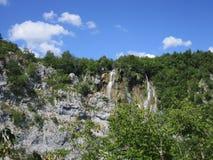 Λίμνες του εθνικού πάρκου Plitvicka Jezera Στοκ φωτογραφία με δικαίωμα ελεύθερης χρήσης