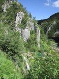 Λίμνες του εθνικού πάρκου Plitvicka Jezera Στοκ εικόνες με δικαίωμα ελεύθερης χρήσης