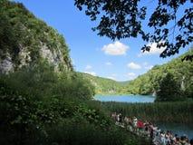 Λίμνες του εθνικού πάρκου Plitvicka Jezera Στοκ εικόνα με δικαίωμα ελεύθερης χρήσης
