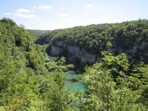 Λίμνες του εθνικού πάρκου Plitvicka Jezera Στοκ φωτογραφίες με δικαίωμα ελεύθερης χρήσης