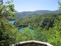 Λίμνες του εθνικού πάρκου Plitvicka Jezera Στοκ Εικόνες
