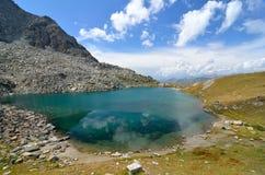 Λίμνες του Πίντερ, Valle δ ` Aosta, Ιταλία Στοκ Εικόνες