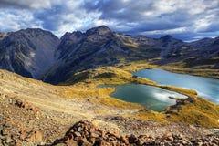 Λίμνες του Nelson, Νέα Ζηλανδία Στοκ φωτογραφία με δικαίωμα ελεύθερης χρήσης