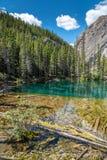 Λίμνες Grassi, Canmore, Αλμπέρτα στοκ φωτογραφία με δικαίωμα ελεύθερης χρήσης