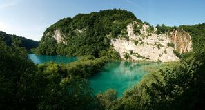 Λίμνες Jezera Plitvice, Κροατία Στοκ φωτογραφία με δικαίωμα ελεύθερης χρήσης
