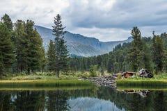 Λίμνες Karakol Στοκ Εικόνες
