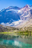 Λίμνες Kulikalon, βουνά Fann, τουρισμός, Τατζικιστάν Στοκ Φωτογραφίες