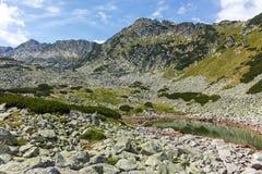 Λίμνες Musalenski, βουνό Rila Στοκ Εικόνες