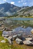 Λίμνες Musalenski και αιχμή Musala, βουνό Rila Στοκ Εικόνα