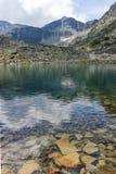 Λίμνες Musalenski και αιχμή Musala, βουνό Rila Στοκ Εικόνες