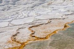 Λίμνες Pamukkale, Τουρκία Στοκ φωτογραφίες με δικαίωμα ελεύθερης χρήσης