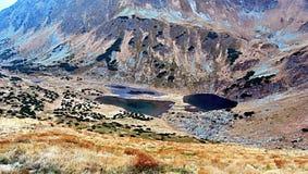 Λίμνες plesa Rackova στα βουνά Zapadne Tatry Στοκ φωτογραφίες με δικαίωμα ελεύθερης χρήσης