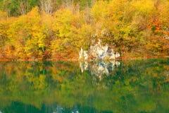 Λίμνες Plitvice, εθνικό πάρκο, Κροατία Στοκ Φωτογραφίες