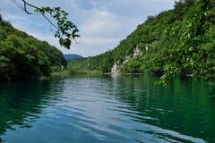 Λίμνες Plitvice, εθνικό πάρκο Plitvice, Κροατία Στοκ Εικόνα