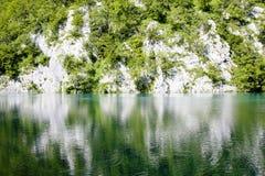 Λίμνες Plitvice - εθνικό πάρκο στην Κροατία Στοκ Εικόνες