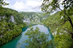 Λίμνες Plitvice - εθνικό πάρκο στην Κροατία Στοκ φωτογραφία με δικαίωμα ελεύθερης χρήσης