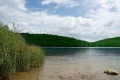 Λίμνες Plitvice, εθνικό πάρκο στην Κροατία Στοκ εικόνα με δικαίωμα ελεύθερης χρήσης