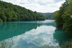 Λίμνες Plitvice, εθνικό πάρκο στην Κροατία Στοκ Φωτογραφίες