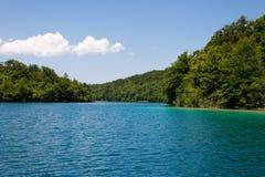 Λίμνες Plitvice, εθνικό πάρκο στην Κροατία Στοκ Εικόνες