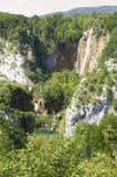 Λίμνες Plitvice - εθνικό πάρκο της Κροατίας Στοκ φωτογραφίες με δικαίωμα ελεύθερης χρήσης
