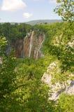 Λίμνες Plitvice - εθνικό πάρκο της Κροατίας Στοκ Εικόνα