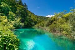Λίμνες Plitvice, εθνικό πάρκο, Pltivice, Κροατία Στοκ εικόνα με δικαίωμα ελεύθερης χρήσης