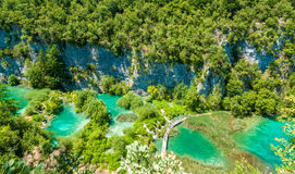 Λίμνες Plitvice, Κροατία Στοκ εικόνες με δικαίωμα ελεύθερης χρήσης