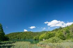 Λίμνες Plitvice της Κροατίας - εθνικό πάρκο το καλοκαίρι Στοκ φωτογραφίες με δικαίωμα ελεύθερης χρήσης