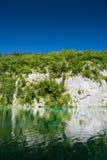 Λίμνες Plitvice της Κροατίας - εθνικό πάρκο το καλοκαίρι Στοκ εικόνες με δικαίωμα ελεύθερης χρήσης