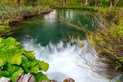 Λίμνες Plitvice της Κροατίας Στοκ φωτογραφία με δικαίωμα ελεύθερης χρήσης