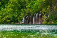 Λίμνες Plitvice της Κροατίας Στοκ Εικόνες
