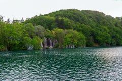 Λίμνες Plitvice της Κροατίας Στοκ εικόνα με δικαίωμα ελεύθερης χρήσης