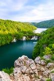 Λίμνες Plitvice της Κροατίας Στοκ εικόνες με δικαίωμα ελεύθερης χρήσης