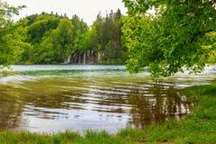 Λίμνες Plitvice της Κροατίας Στοκ φωτογραφίες με δικαίωμα ελεύθερης χρήσης