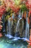Λίμνες Plitvice το φθινόπωρο Στοκ Φωτογραφία