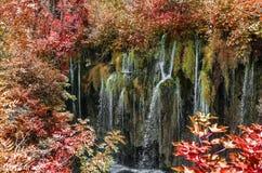 Λίμνες Plitvice το φθινόπωρο Στοκ φωτογραφίες με δικαίωμα ελεύθερης χρήσης