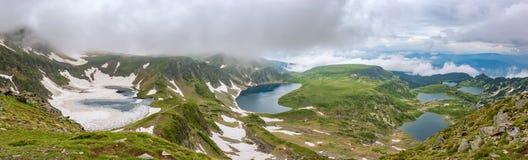 Λίμνες Rila Στοκ Εικόνες