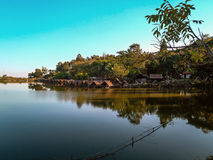 Λίμνη έξω από Chang Mai, Ταϊλάνδη Στοκ Εικόνα