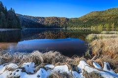 Λίμνη Αγίου Anna Στοκ φωτογραφίες με δικαίωμα ελεύθερης χρήσης