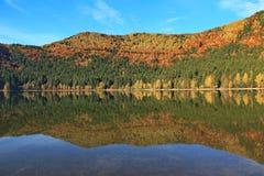 Λίμνη Αγίου Anna Στοκ Φωτογραφίες