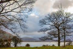 Λίμνη Αγγλία UK Bassenthwaite Στοκ Εικόνες